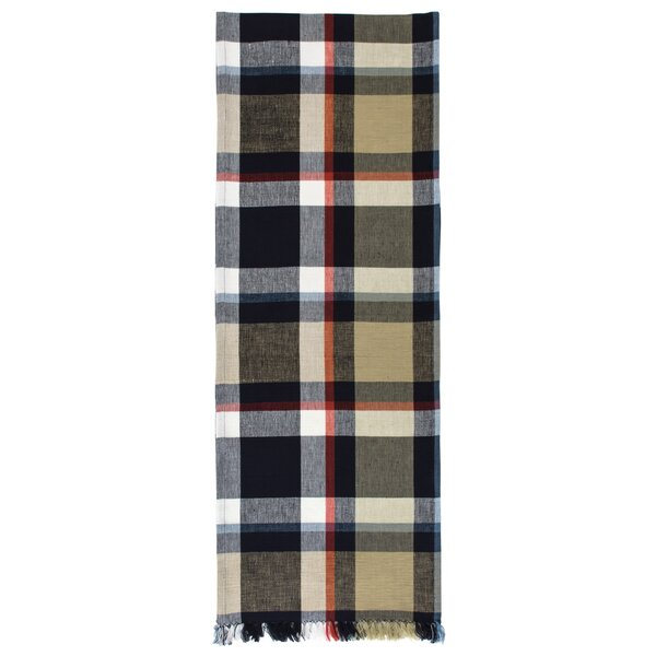 Darvell 100% Cotton Plaid Table Runner (Set of 2) by Darby Home Co
